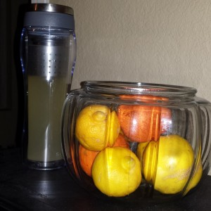 The sweet lemons are delicious in my green tea!